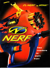 Nerf Brochure Dealer's Catalog It's Nerf or Nothin' The Leaders in Soft Fun