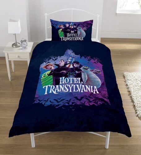 Hotel Transylvania 3 Single Duvet Cover Reversible Bedding Set Movie Dracula