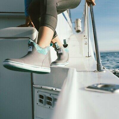 XTRATUF Women/'s Salmon Sisters 6/'/' Ankle Waterproof Deck Boots XWAB-307