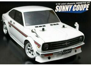 1-12-RC-Car-Body-Shell-ABC-HOBBY-GENETIC-DATSUN-1200-SUNNY-COUPE-BODY-SHELL