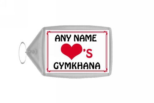 Amor Corazón Gymkhana Personalizada Llavero