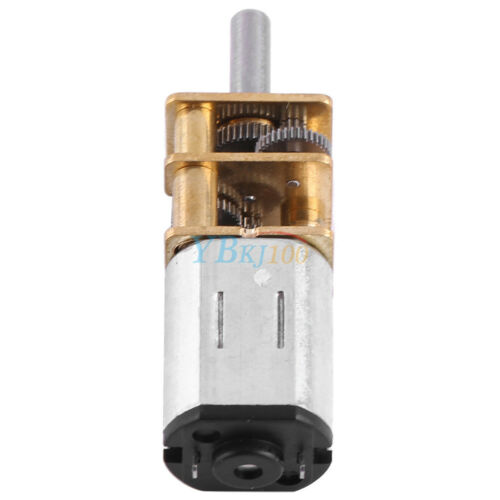 1:1000 DC 6V 10//15//20RPM High Torque Reduction Gear Motor Gearmotors Mini im