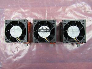 Discipliné Lot Of 3 Dell Poweredge R720 9ga0612p1j611 Server Fan Assembly Wg2ck Rm4hx-a00 Construction Robuste