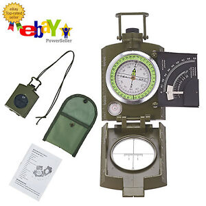 1Pc x Pocket Button Outdoor Hiking Vintage Metal Compass For Camping SurvivaJKU