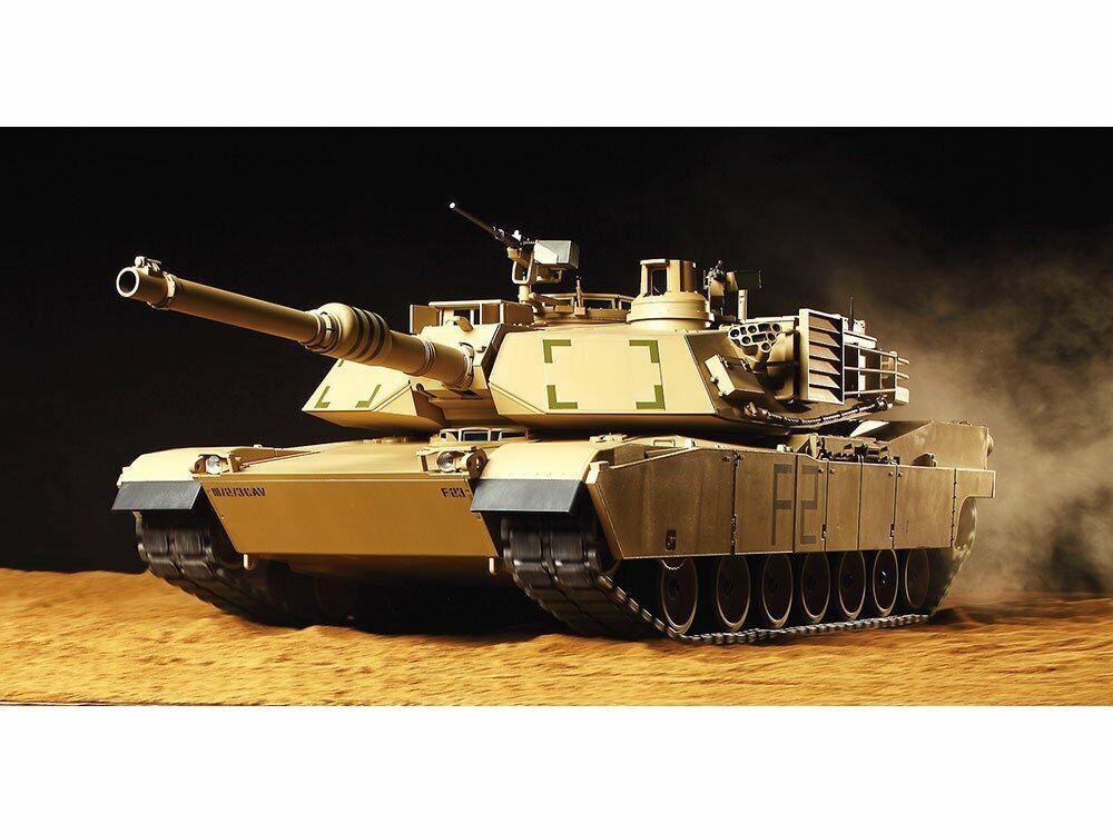 Tamiya 1 16 RC tank series No. 40 USA  M1A2 Abrams tank full operation set (with  risparmia il 35% - 70% di sconto