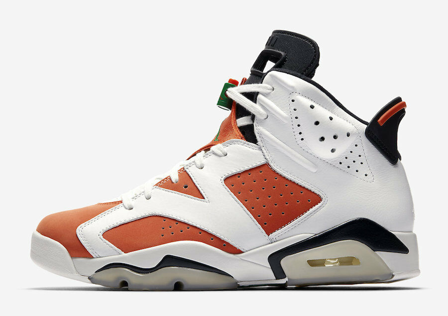 2018 Nike Air Jordan 6 Gatorade VI Retro SZ 10 Gatorade 6 Orange Like Mike OG 384664-145 2796c9