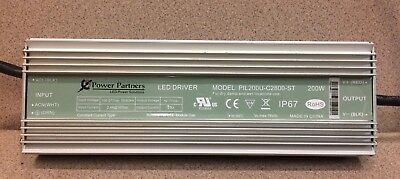 Power Partners,PIL150U-C2100-ST Used 100-277V LED Driver 150W IP67,Waterproof