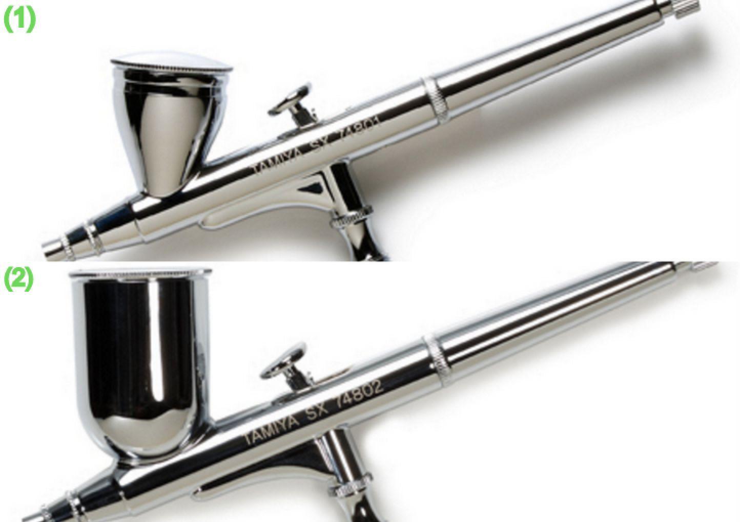 Tamiya Model Craft Tools - Sparmax Airbrush SX0.3D 74801 Sx0.5D 74802
