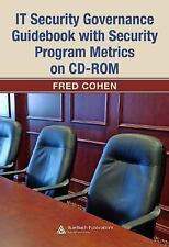 IT Security Governance Guidebook with Security Program Metrics on CD-R-ExLibrary