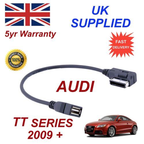 AUDI TT 4F0051510Q MP3 Memory Stick USB Cable de Audio Ami Mmi
