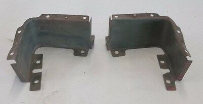 Oldsmobile Headlight Bucket Corners 1971 Cutlass 442 Pair J3379