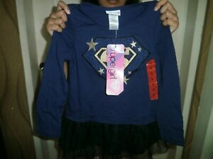 CLOSEOUT-SALE-Imported-From-USA-Supergirl-Longsleeve-Top-Sz-5