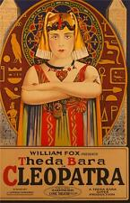 Cleopatra Vintage Movie Poster Lithograph Theda Bara Hand Pulled S2 Art Ltd Ed