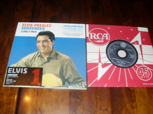 ELVIS-PRESLEY-SURRENDER-amp-LONELY-MAN-1-x-PROMO-MUSIC-LIMITED-EDITION-CD