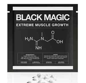 Black-Magic-Kreatin-AKG-ZMA-HMB-Aminosaeuren-Staerkste-Muskel-Formel