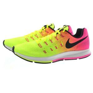 fb507f681a8f Nike 846327 Womens Air Zoom Pegasus 33 OC Low Top Running Shoes ...