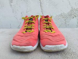 Nike Free TR Women's Training Running White Pink 429785 602 US Sz 8