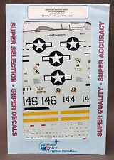 1/48 SuperScale Decals 48-613 P-47N THUNDERBOLTS Duck Butt Meaties Meat Chopper