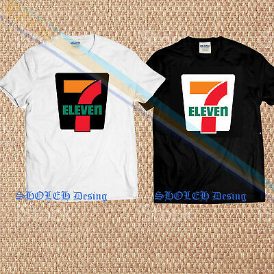 7 ELEVEN Gas Station Store Food Drinks Fuel Black T-Shirt S M L XL 2XL 3XL