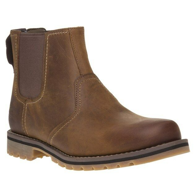 d307b8e75ee7 Timberland Larchmont Mens Leather Chelsea Ankle BOOTS UK 11 for sale online