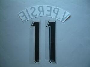 v.PERSIE NOME+NUMERO UFFICIALE ARSENAL FC AWAY 2006-2007 CHAMPIONS LEAGUE