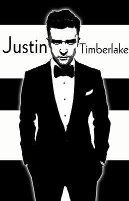 """Justin Timberlake /""""Black Light/"""" Poster"""
