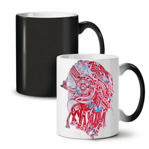 Robot Warrior Fantasy NEW Colour Changing Tea Coffee Mug 11 oz | Wellcoda