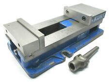 New Listingkurt Anglock 6 Milling Machine Vise With Jaws Amp Handle D688