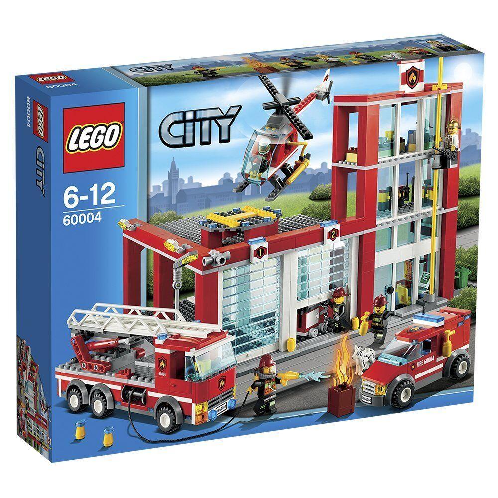 Lego 60004 Estación de Bomberos