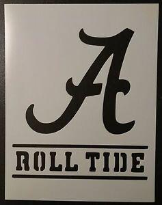 Details about Alabama Crimson Roll Tide 8 5