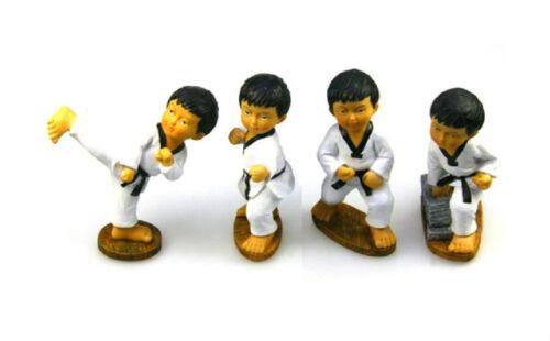 New Taekwondo Korea Doll Figurines Martial Arts Doll Series Tkd Doll