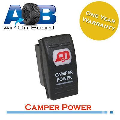 Rocker switch 465 red 12 volt CAMPER POWER Caravan camping