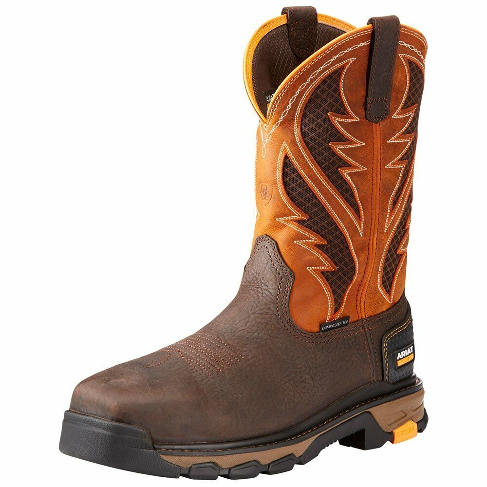 Ariat Para Hombre Intrepid venttek Bota-Ancho Cuadrado Composite Toe - 10023042