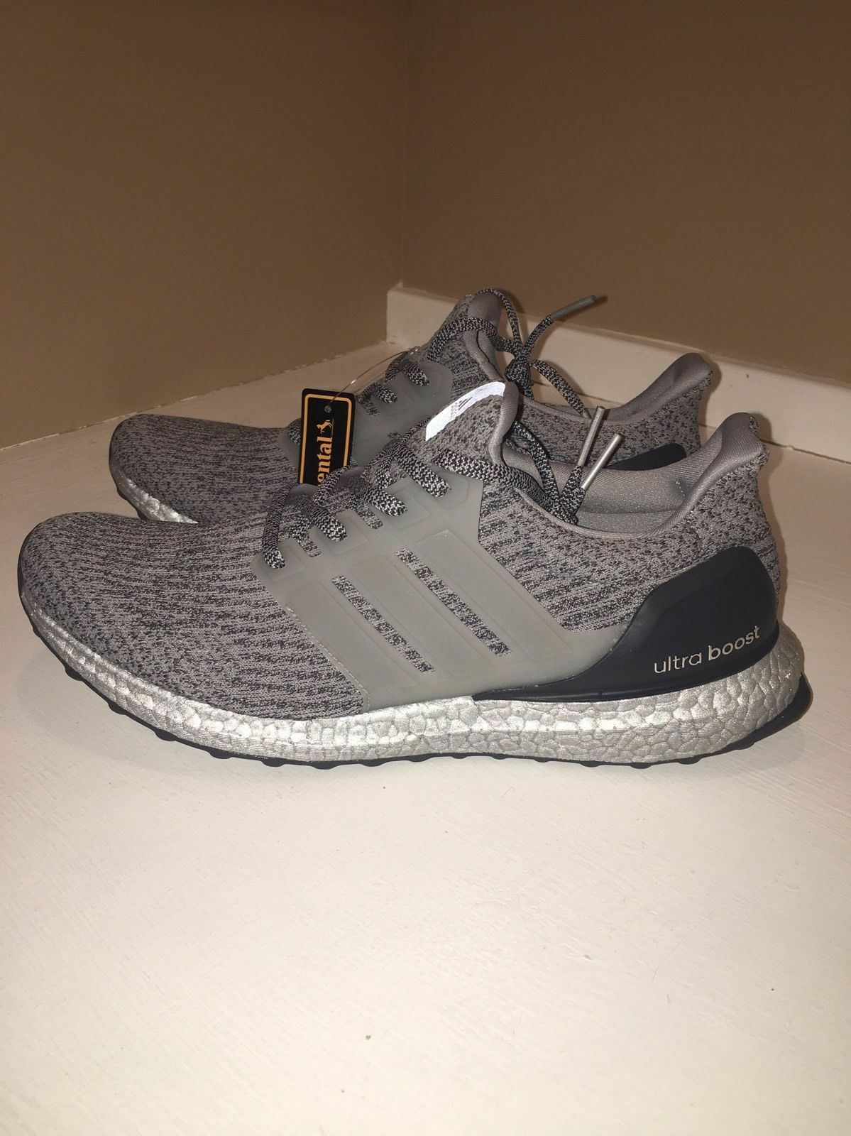 Adidas Ultra Boost Authentic 3.0 Silver Pack BA8143 Superbowl Metallic Authentic Boost DS 8-11 bc5958