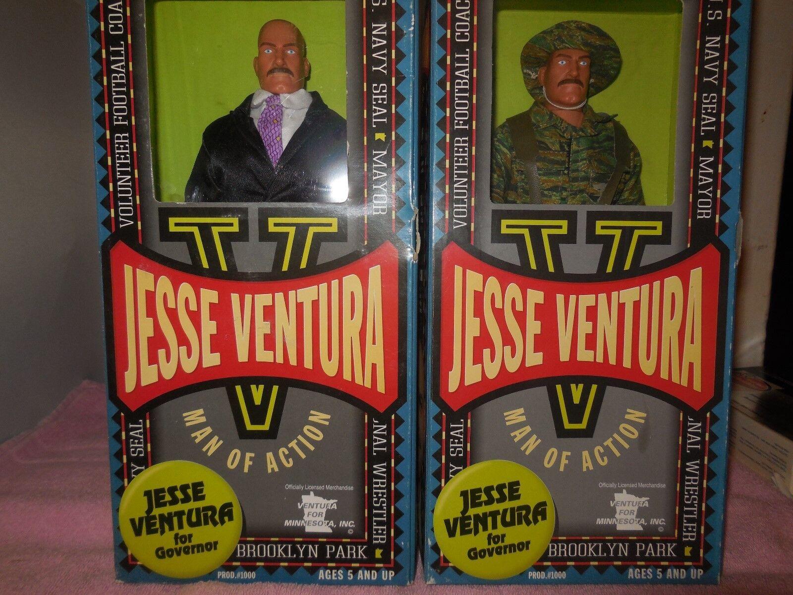 Jesse ventura mann mit action - figuren