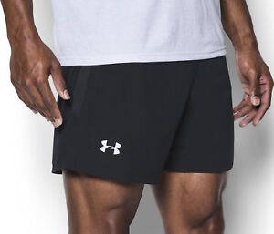 0b4b8060 Details about Under Armour Launch SW 5 Inch Mens Running Shorts - Black