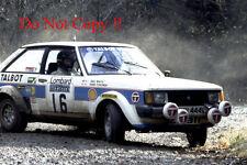 Henri Toivonen Talbot Sunbeam Lotus Ganador Rally Rac 1980 fotografía