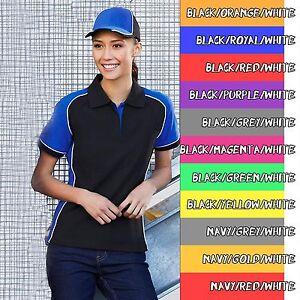 Biz-Collection-Nitro-Polo-Ladies-Polo-Sport-Shirt-RACING-AUTOMOTIVE-MECHANIC