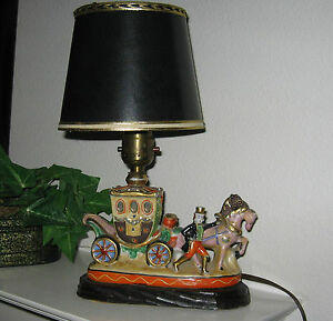 Carriage table lamp