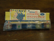 Vintage Baby Cradle Crib. Toddler's Toy Action Exerciser