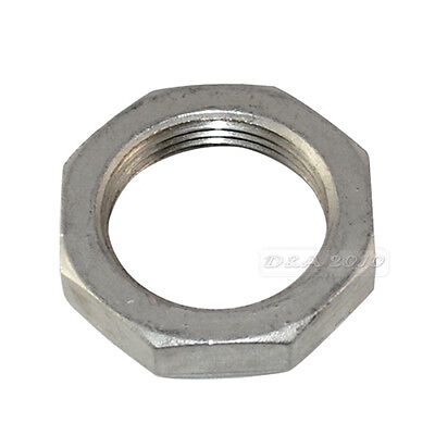 "1/2""-2"" Lock Nut Stainless Steel 304 O-Ring Groove Pipe Fitting Lock Nut BSP NEW"