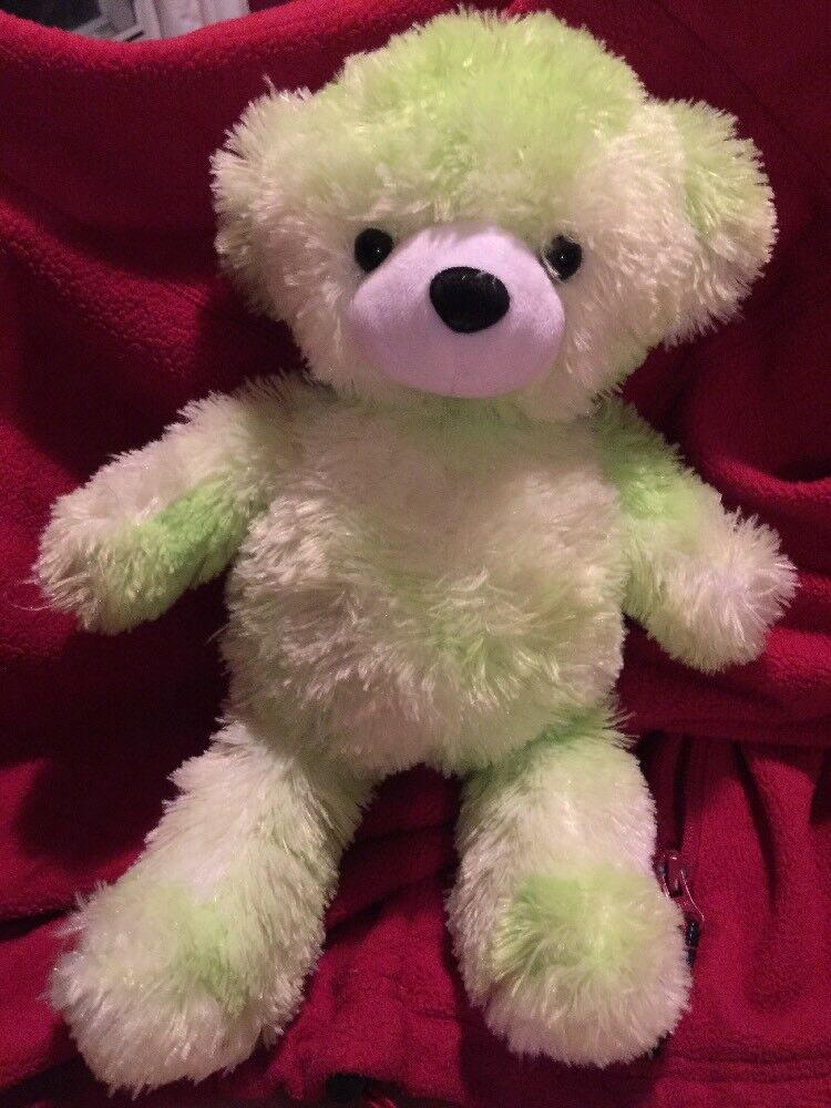 Cepia Glo E Color Kinetics verde bianca Teddy Bear Plush Glow Light Up Toy 12