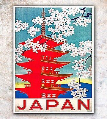 "Japan Art Travel Poster Japanese Wall Decor Print 12x16"" A53"