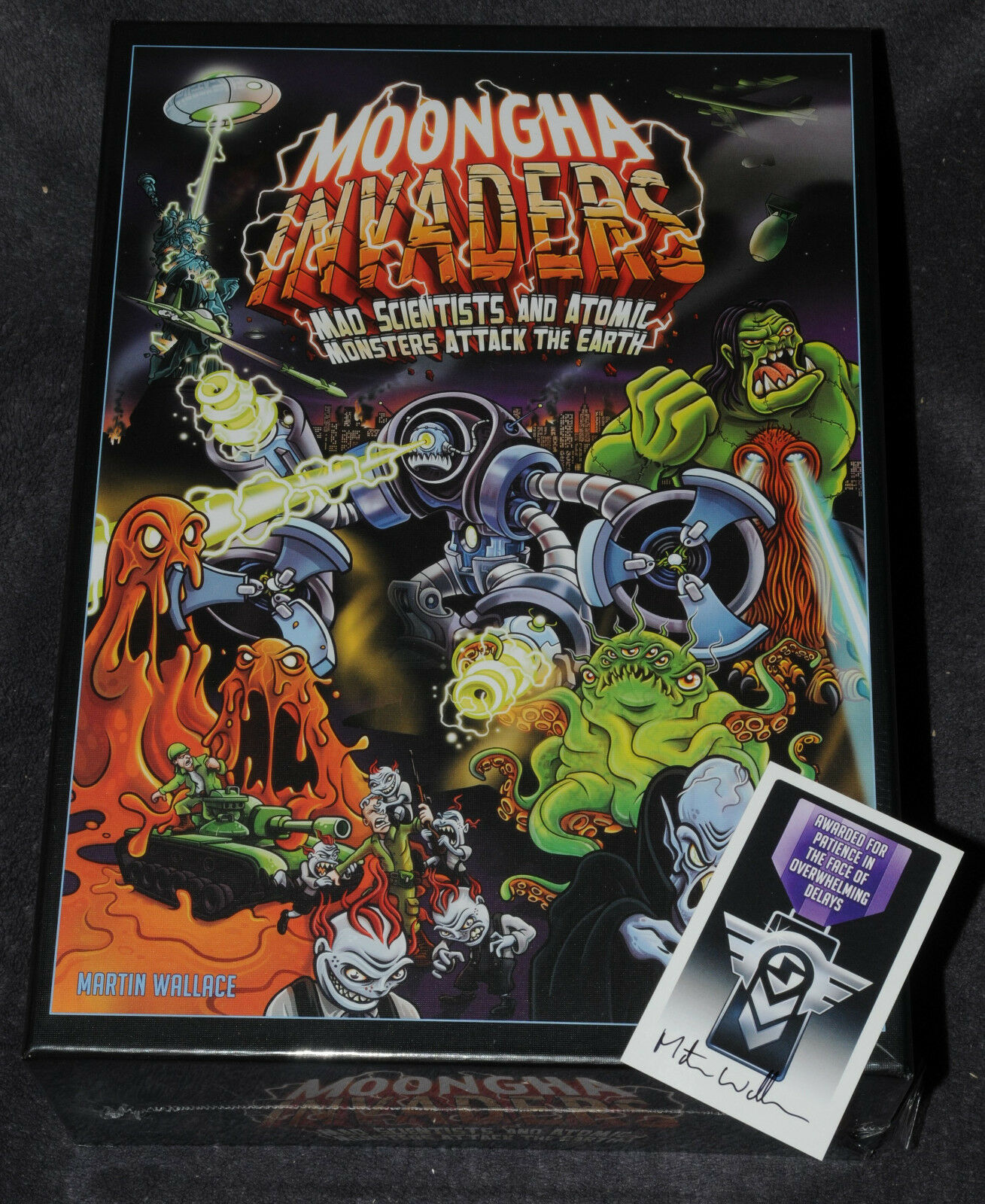 Moongha Invaders Kickstarter Edition von Martin Wallace ( Treefrog ) NEU