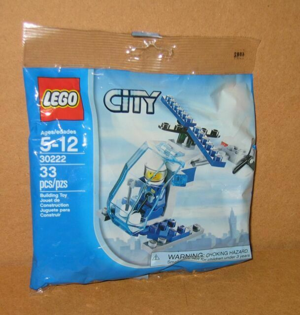 Lego City 30222 Police Helicopter sealed polybag