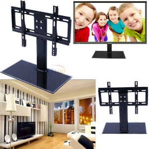 Universal-LCD-LED-TV-Wall-Mount-Table-Pedestal-Stand-Bracket-26-32-inch