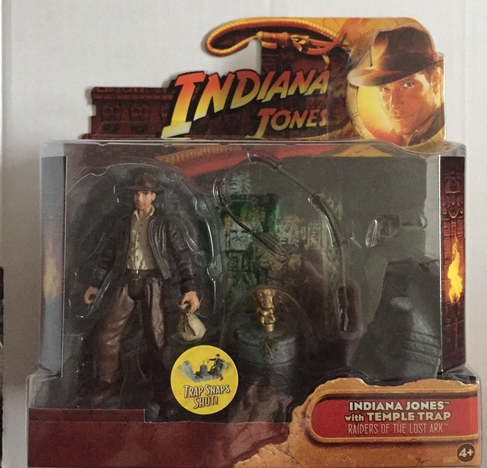 Indiana Jones Action Figure of INDIANA JONES And And And TEMPLE TRAP 3.75  Tall 4d520a