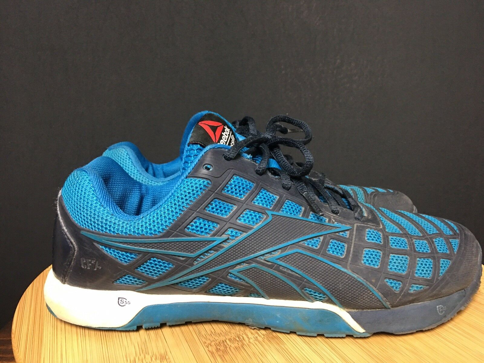 Reebok Crossfit CF74 Navy bluee and Teal Nano  Men's  shoes Size 9.5