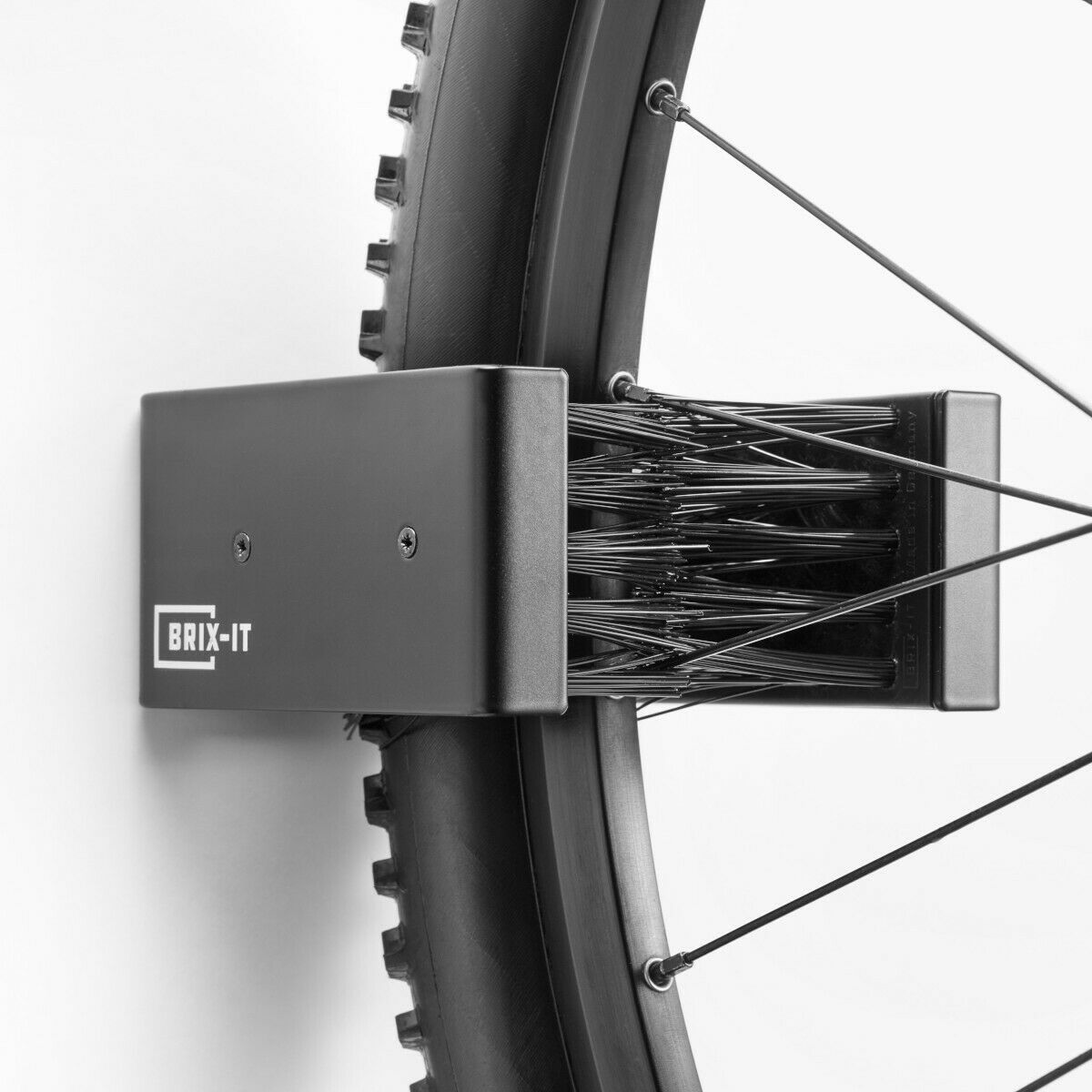 Brix-it Bicicleta Soporte Parot Universal para Neumático de 25mm hasta 65 Mm