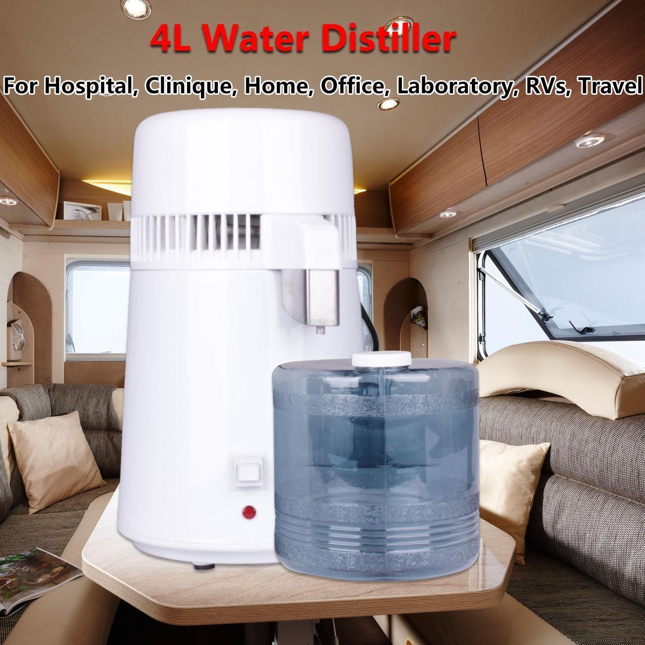 4L 750W eau distiller Dental-Medical distiller Filter inox